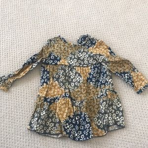 Zara Toddler Girl Floral Dress